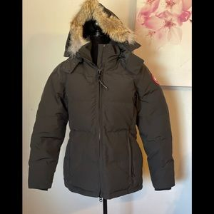 Canada Goose Chelsea Fur-Hood Parka Coat Size M